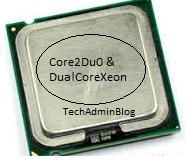 Intel C2D Processor top