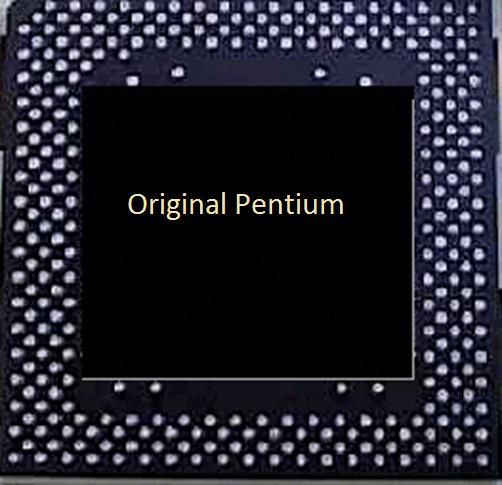 Intel Original Pentium Processor
